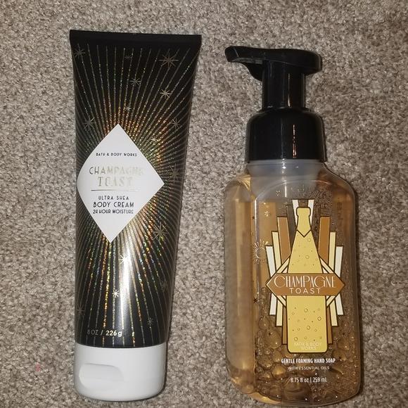 Bath and Body Works Body Cream & Hand Soap Set
